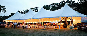 Tent & Canopy Rentals for Weddings & Events