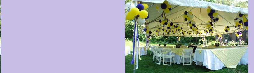 Grad Party Tent